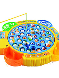 cheap -Magnet Toy Fishing Toys Toy Circular Fish Electric Plastics Kid's Gift 1pcs