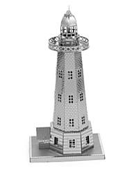 economico -Puzzle 3D Puzzle Giocattoli Torre Edificio famoso Architettura 3D Fai da te Metallo Lega Non specificato Pezzi