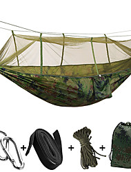cheap -2 persons Camping Hammock Ultra Light (UL) Collapsible Nylon for Camping Camping / Hiking / Caving Outdoor