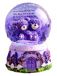 abordables -Balles Boîte à musique Enfant Adultes Enfants Cadeau Cristal Fille