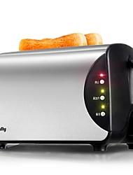 Máquinas Para Fazer Pão Torradeira Utensílios de Cozinha Inovadores 220VSaúde Multifunções Leve e conveniente Fofo Baixo Ruido Luz de