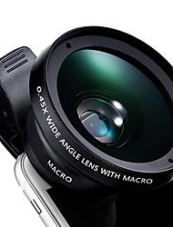 Lenti a flash per occhiali da vista smart microfono da 0.45x lente a macroistruzione per occhiali da vista a macroistruzione da 10x per
