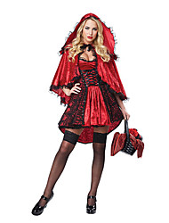 Conte de Fée Déesse Cosplay Costumes de Cosplay Bal Masqué Féminin Halloween Carnaval Fête / Célébration Déguisement d'Halloween Rouge