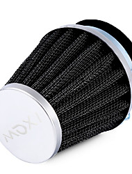 ZIQIAO Car Accessories Air Filters High Quality Iron and Strong Pliable Rubber Universal 1pcs 54mm Mushroom Head Motorcycle Air Filter