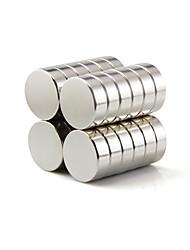 Недорогие -50 pcs 10*3mm Магнитные игрушки Магнитный конструктор Неодимовый магнит Сильные магниты из редкоземельных металлов Магнитный Своими руками Универсальные Мальчики Девочки Игрушки Подарок
