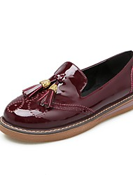 Women's Loafers & Slip-Ons Comfort Ballerina Novelty Mary Jane Gladiator Flower Girl Shoes Light Soles Spring Fall Patent Leather Walking