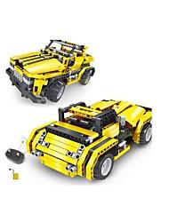 economico -Macchinine giocattolo Costruzioni Controllo radio Gioco educativo Giocattoli Auto Telecomando Fai da te Plastica Acetato/Plastica Bambini