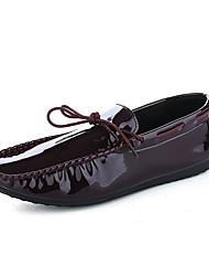Для мужчин Мокасины и Свитер Светодиодные подошвы Обувь для дайвинга Полиуретан Весна Лето Осень Зима Повседневные Комбинация материалов