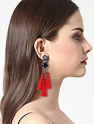 Women's Drop Earrings Hoop Earrings Earrings Set Fashion Vintage Bohemian Personalized Hip-Hop Acrylic Resin Alloy Jewelry ForGift Casual