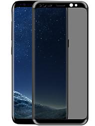 Недорогие -Закаленное стекло Защитная плёнка для экрана для Samsung Galaxy S8 Plus Защитная пленка на всё устройство Защита от царапин Anti-Spy 3D