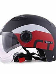 Недорогие -Каска Плотное облегание Компактный Воздухопроницаемый Лучшее качество Спорт ABS Каски для мотоциклов