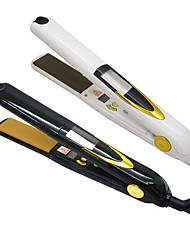 LOOF JR-170 Titanium Ceramics Hair Straightener AC 110-240V 80 -130W LCD Temperature Display