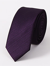 cheap -Men's Cotton Necktie - Jacquard