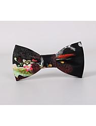cheap -Men's Work Basic Bow Tie - Print