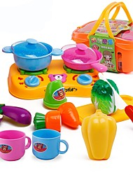 Недорогие -Игрушка кухонные наборы Игрушка Foods Игрушки Продукты питания Игрушки Мальчики Девочки Куски