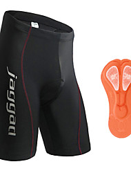 Jaggad Cycling Padded Shorts Men's Women's Unisex Bike Shorts Padded Shorts/Chamois Tights Bottoms Quick Dry Breathable Back Pocket 3D Pad