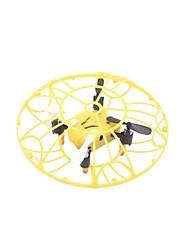 economico -RC Drone TKKJ M75 4 canali 2.4G Senza fotocamera Quadricottero Rc Luci a LED Quadricottero Rc Cavo USB Pale