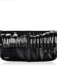 1set Makeup Brush Set Synthetic Hair Multi Function Easy Carrying Multi-tool Easy to Carry Aluminum Wood Men Face Men and Women Eye