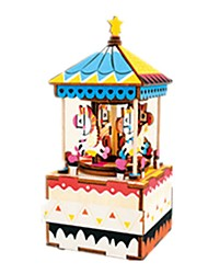 cheap -Music Box Horse Carousel DIY Kid's Adults Kids Gift Unisex