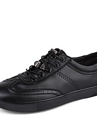 Men's Sneakers Driving Shoes Comfort Light Soles Real Leather Cowhide Nappa Leather Fall Winter Casual Outdoor Office & Career Lace-up