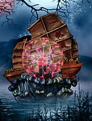 ion magique boule artisanat décoration boule de cristal abstraite voile modélisation électrostatique boule résine artisanat
