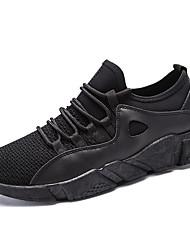 Da uomo scarpe da ginnastica Comoda Suole leggere Maglia traspirante A rete Tulle PU (Poliuretano) Primavera Autunno Sportivo Ciclismo