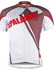 baratos -ILPALADINO Homens Manga Curta Camisa para Ciclismo Moto Camisa / Roupas Para Esporte, Secagem Rápida Poliéster, Coolmax®