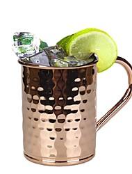 питьевая вода, 400 мл нержавеющая сталь москва осла сок коктейль кружка