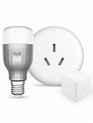 Xiaomi Smart Home Devices:RGBW Smart LED Bulb and Air Conditioner Controller Kit