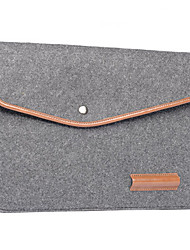 cheap -Notebook Liner Pack Leather Wool Felt Computer Bag  16 Inches