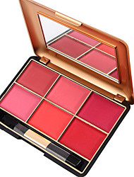 cheap -6 Powder Blush Dry Pressed powder Natural Face China Cosmetic Beauty Care Makeup for Face