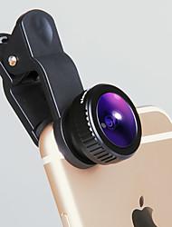IVR Mobile Phone Lens Fish Eyes Large Wide Angle Full Glass Lens External Lens