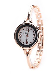 cheap -Women's Quartz Wrist Watch Chinese Hot Sale Alloy Band Charm Vintage Casual Dress Watch Elegant Fashion Silver Gold Rose Gold