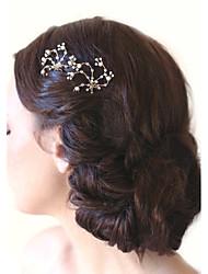 abordables -aleación de pelo peinado casco boda elegante estilo femenino