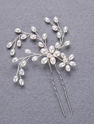 abordables -casco perla imitación perla elegante estilo femenino clásico