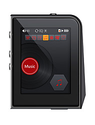 abordables -La chaîne hi-fiPlayer16Go Non Jack 3.5mm Carte Micro SD 128GBdigital music playerBouton Tactile