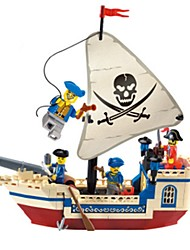 cheap -ENLIGHTEN Building Blocks Pirate Ship Unisex Gift