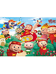 cheap -Jigsaw Puzzle Wooden Puzzles Educational Toy Toys Pig Fruit Wood Unisex Pieces