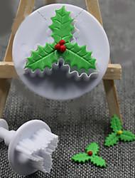 2 Pièces Moules à gâteaux Nouveauté Usage quotidien Plastique dur Ustensile de Cuisine