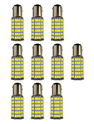 cheap -4W 1157 BAY15S PY21W 120SMD2835 Turn Signal Lamp for Car White DC12V 10Pcs