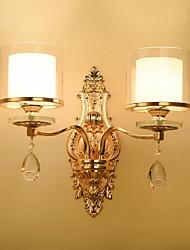 baratos -Vintage Luminárias de parede Para Vidro Luz de parede 220V 60W