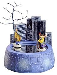 Недорогие -музыкальная шкатулка Игрушки Карусель Дерево Куски Для детей Универсальные День рождения День Святого Валентина Подарок