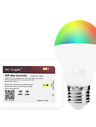 6W E27 LED Smart Bulbs A60(A19) 14 leds SMD 5050 Infrared Sensor Dimmable Remote-Controlled WIFI APP Control Light Control RGB+Warm 600lm
