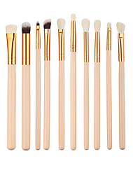 cheap -12pcs Eyeshadow Makeup Brush Brow Brush Eyeliner Brush Concealer Brush Synthetic Hair Professional Full Coverage Synthetic Eco-friendly Wood Eye Lip
