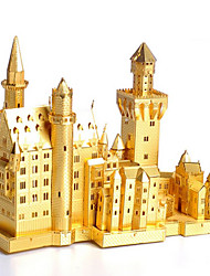 cheap -3D Puzzles Jigsaw Puzzle Famous buildings Architecture 3D Stainless Steel Metal Unisex Gift