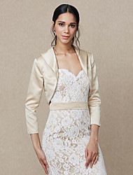 cheap -Satin Wedding Party/ Evening Women's Wrap Shrugs Elegant Style