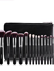 cheap -1set Makeup Brush Set Others Multi-function Easy to Use Easy Carrying Easy to Carry Aluminum Wood Men Face Men and Women Daily Eyes