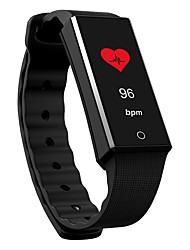 cheap -Smart Bracelet Heart Rate Monitor Calories Burned Pedometers Distance Tracking Long Standby Information Anti-lost Pedometer Remote