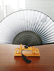 The New Plum Blossom Fan (Set Of 1) Random Pattern