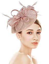 economico -Plastica fascinators Fiori Cappelli with Fantasia floreale 1pc Matrimonio Occasioni speciali Party /serata Copricapo